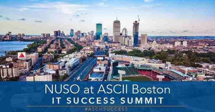 NUSO at The ASCII Group IT Success Summit Boston 2019 Recap