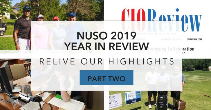NUSO in 2019: Year in Review – Part 2